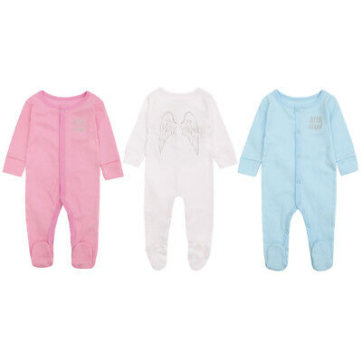 Babytown Little Angel Sleepsuit with Angel Wings