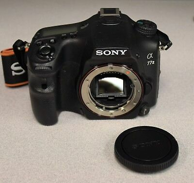 Sony Alpha A77 II (ILCA-77M2) 24.3MP Digital SLR Camera - Black