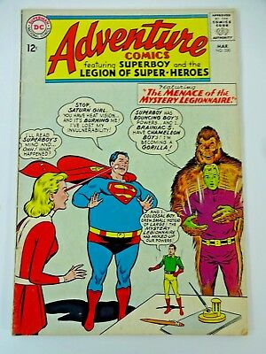 DC Adventure Comics #330 March 1965 Superboy Menace of the Mystery Legionnaire