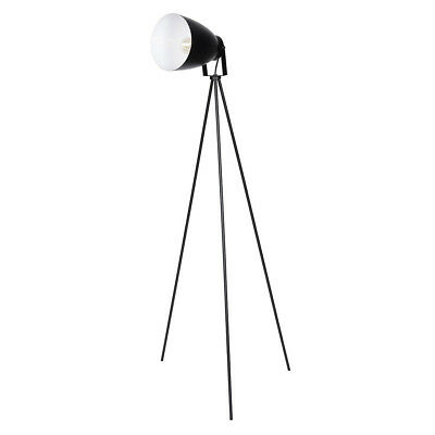 Great Louise Schwarz Stativ Metall Stehlampe With Industrie Look