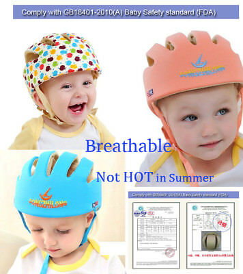 Baby Safety Helmet Toddler Infant Adjustable Headguard Protect Harnesses Cap