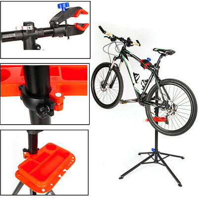 Pro Bike Repair Stand Adjustable w/ Telescopic Arm Cycle Bicycle Rack