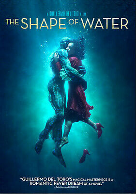 The Shape of Water [New DVD] Ac-3/Dolby Digital, Dolby, Dubbed, Subtitled, Wid