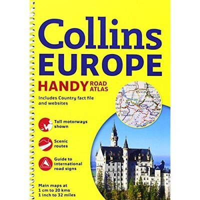 Collins Handy Road Atlas Europe (International Road Atlases) Collins Maps