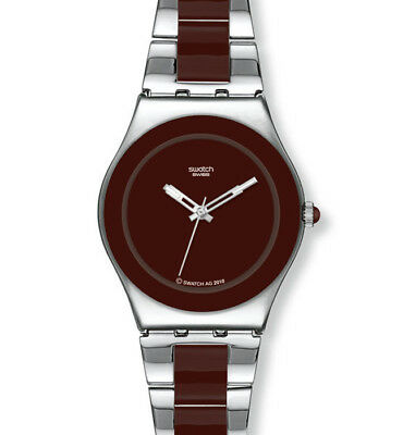 "Swatch Irony Medium ""brown Ceramic"" (Yls163G) Neuware"