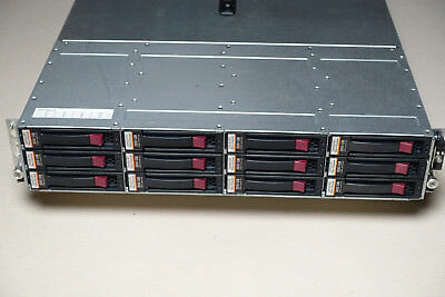HP Disk Array AG638B / M6412, 2 x AG638-60410, 2 x Power Supply, 12 x 300 GB 15k