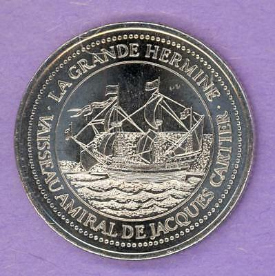 1984 Quebec La Grande Allee Merchant's Association Private Trade Token Hermine
