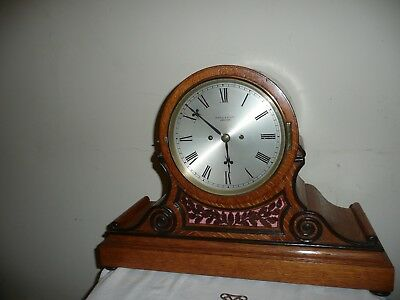 Superb, Twin Fusee Drum Head Clock, Maple & Co London, Working Order With Keys.