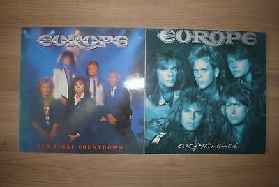 2x Europe Vinyl LP ~ The final countdown & Out of this world 1986 1989 TOP!