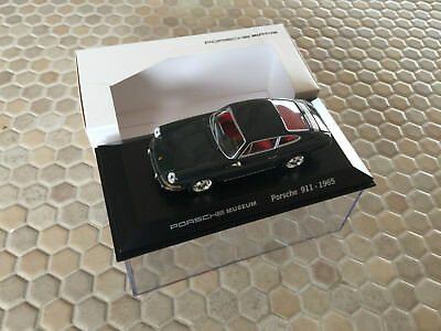 PORSCHE WELLY MUSEUM OFFICIAL GREY 911 COUPE 1:43rd SCALE MODEL 1965 NEW