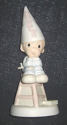 "Vintage 1982 Precious Moments Jonathan & David ""Nobody's Perfect"" Figurine"