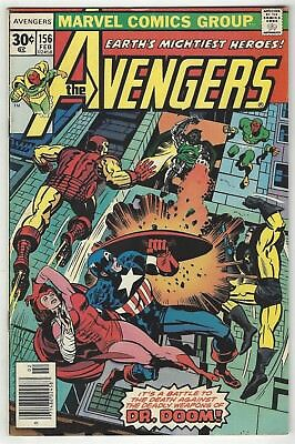 Avengers 156! Vg 4.0! Cool Bronze Age Marvel Comic Book!