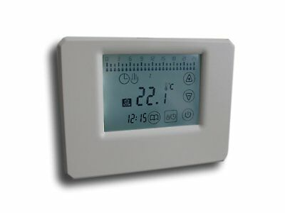 radio thermostat Ecran Tactile sans fil blanc programmable #829