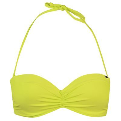 ONeill MM Solid Strap Bandeau Top Ladies Bikini Water Repellent Quick Drying
