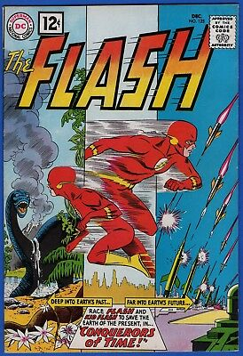 Flash #125 Nm- 9.2+ High Grade Silver Age Dc (499 Written On 1St & Inside Cover