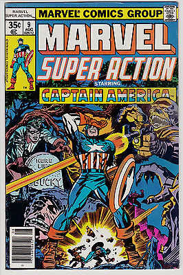 Marvel Super Action #9 Captain America Stan Lee Jack Kirby Reprints