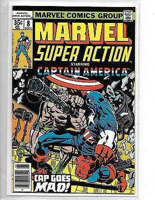 Marvel Super Action #8 Captain America Stan Lee Jack Kirby
