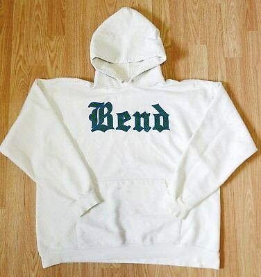 Vintage Hoodie Hooded Sweatshirt Vtg Bend 60s 70s 80s Sport Athletic GRAPHIC