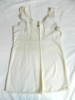 Vintage Girls Full Slip Cotton
