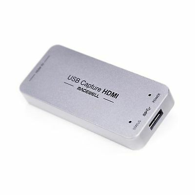 Magewell USB 3.0 HDMI Video Capture Dongle Windows Linux Mac OS UVC Protocol