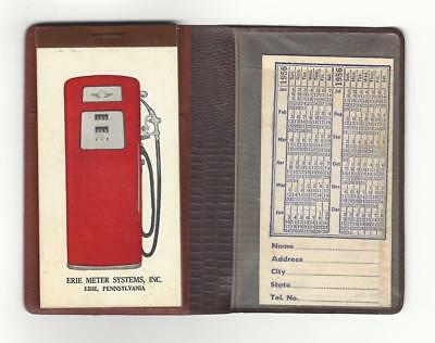 Erie Meter Systems Service Station Note Pad - 1956 & 1957 Calendar  Pennsylvania