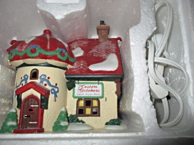 "Department 56 North Pole Series,""CUSTOM STITCHERS""#56400 ret $37.50"