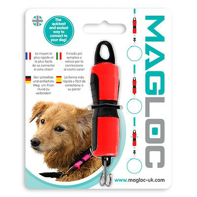 Magloc Magnetic Dog Pet Collar - Lead Connector Quick Release