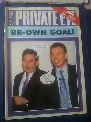 PRIVATE EYE Magazine 1167 15 Sep to 28 Sep2006  BR-OWN GOAL