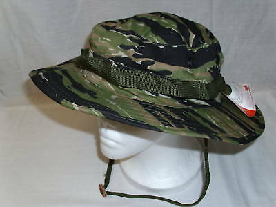 NEW  Ripstop GI Army Military BOONIE HAT 7 ½ TIGER CAMO