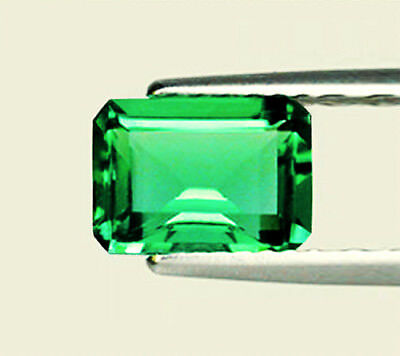 Top Grade,Top Stone! 1.64 ct Natural Earth Mined Emerald Certified No Reserve
