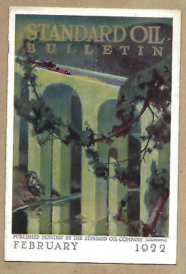Standard Oil Bulletin February 1922 Vol IX No 10 Stanford Stadium Article Photos