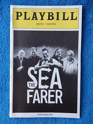 The Seafarer - Booth Theatre Playbill w/Ticket - January 15th, 2008 - Morse