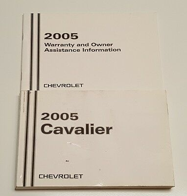2005 chevrolet cavalier owners manual 05 cavalier manual 2005 rh picclick co uk 2005 gulfstream cavalier owners manual 2004 Chevrolet Cavalier Manual