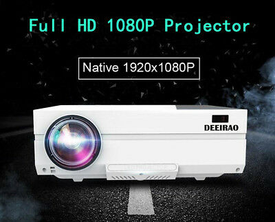 New Arrival Home Theater LCD Projector Portable Full HD 1080P HDMI LED DT1920