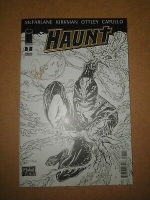 Haunt Nr.1 Collectors Edition Gold Variant . signiert von Greg Capullo,Top