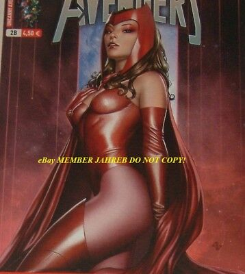 UNCANNY AVENGERS 1 Granov Scarlet Witch Euro Variant Panini 1:75 French Edition