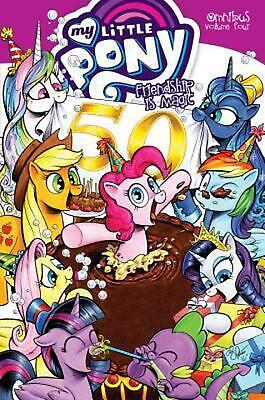 My Little Pony Omnibus Volume 4 by Christina Rice Paperback Book Free Shipping!