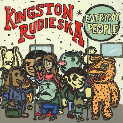Kingston Rudieska - Everyday People (Vinyl LP - 2017 - US - Original)