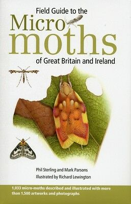 Field Guide to the Micro-Moths of Great Britain and Ireland (Hard. 9780956490223