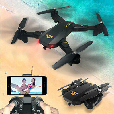 VISUO Quadcopter Drone WITH 2MP HD 1080p Wide-Angle Camera Wifi FPV 2.4Ghz Toys