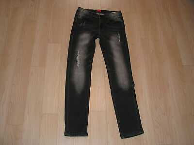 """Coole s.Oliver Jeans Modell """"Seattle"""" Gr. 164 slim, Grau  Used-Look *TOP*"""
