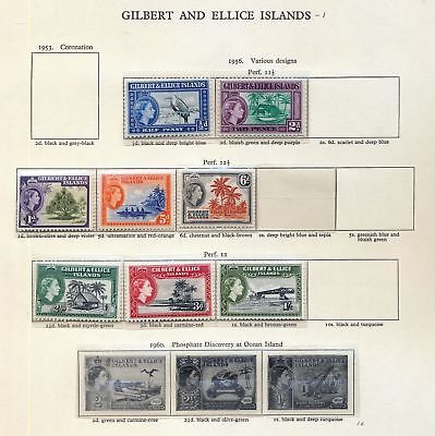 Gilbert Ellice Grenada Cyprus Ireland Hong Kong QE M&U 50+Items (hat 807)