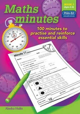 Maths Minutes: Book 3 by Prim-Ed Publishing Book The Cheap Fast Free Post