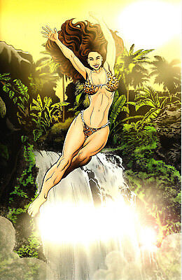 Cavewoman Quiver #1 T. D. Renton Special Edition Virgin Cover F Limited to 375