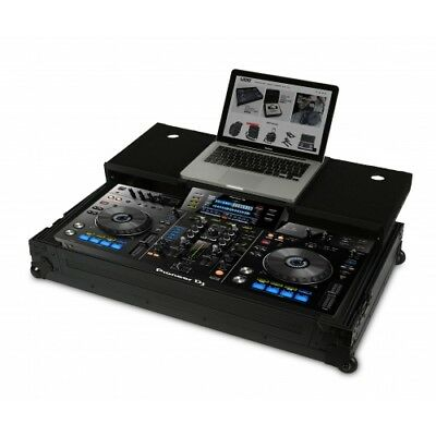 UDG - U91015BL - Ultimate Flight Case Pioneer XDJ-RX Black Plus (Laptop Shelf +