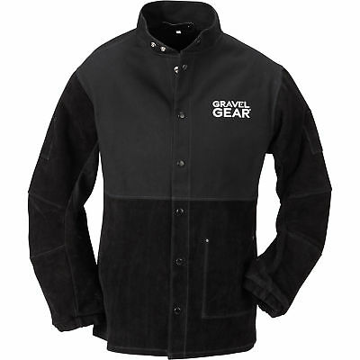Gravel Gear Combination Welding Jacket - XL, Black