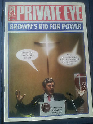 PRIVATE EYE Magazine 1167 15 Sep to 28 Sep2006  BROWN'S BID FOR POWER