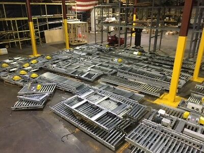 $250,000 worth of conveyor Equipment SSI SCHAEFER NEW Roller sections
