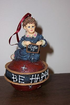 #25855 Michelle - Tree Ornament - Boyds Yesterday's Child Dollstone Collection