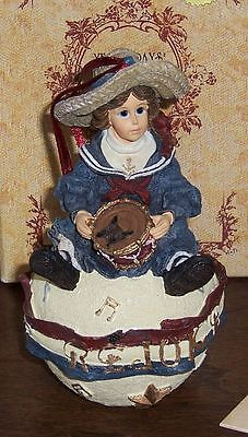 #25854 Besty Patriot -  Ornament - Boyds Yesterday's Child Dollstone Collection